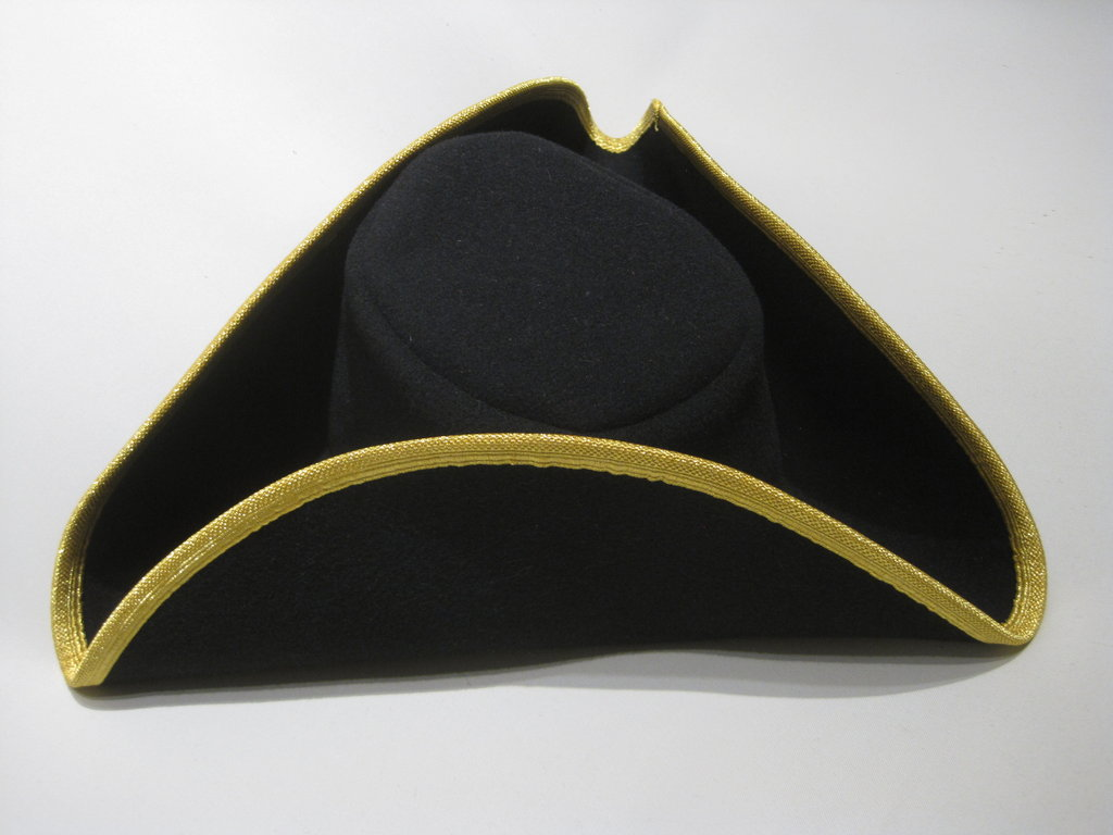 high quality tricorn costumes 54-64cm 15 colors
