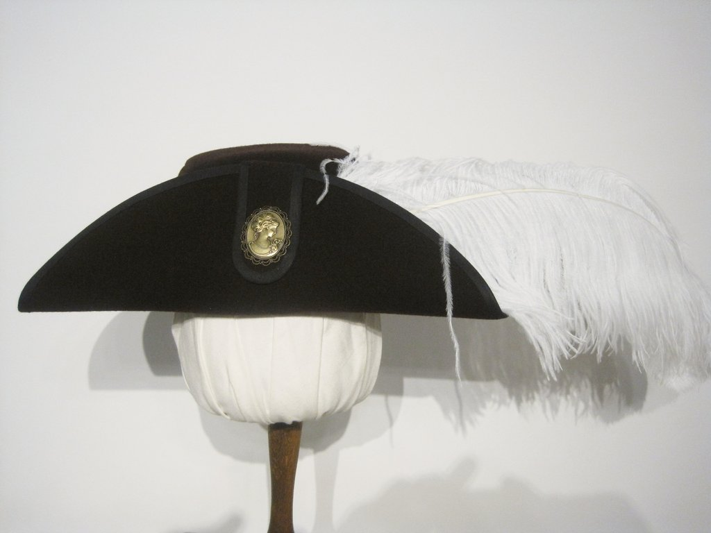 hat with brass elements 54-64cm 15 colors