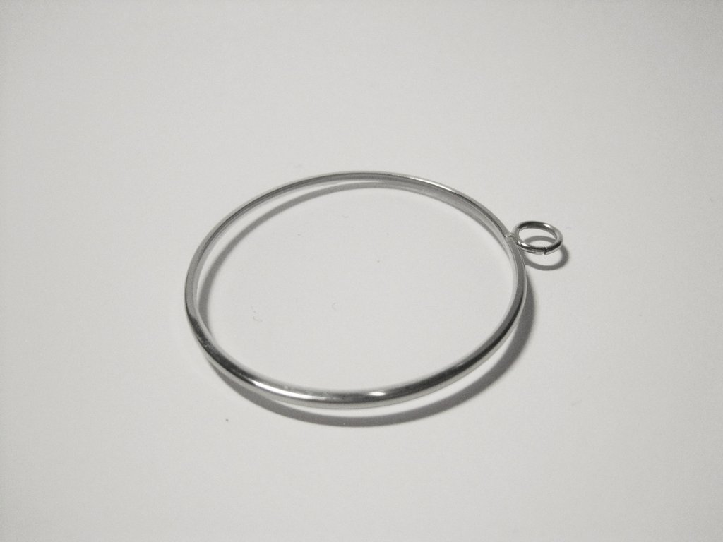 Monocle without chain with eyelet