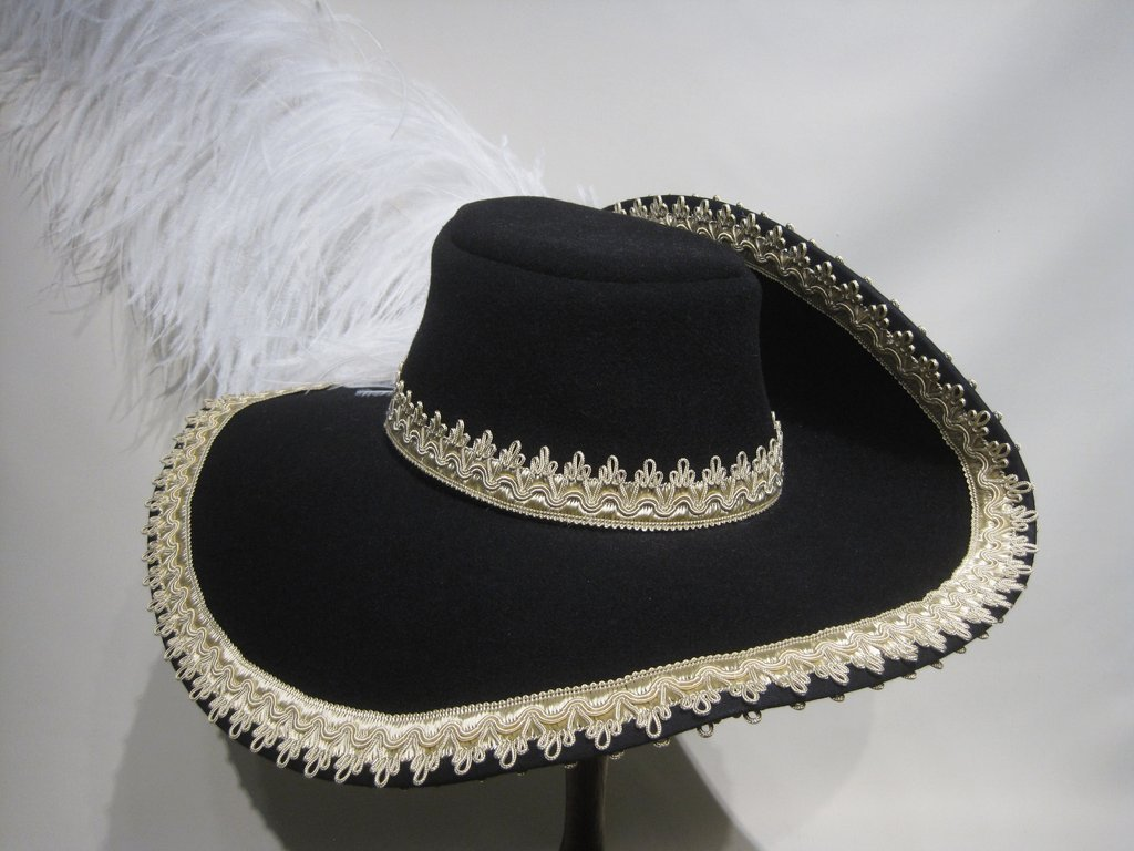 Musketier hat Border Hatband 15 colors all sizes